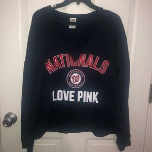 VS PINK Washington Nationals Sweater